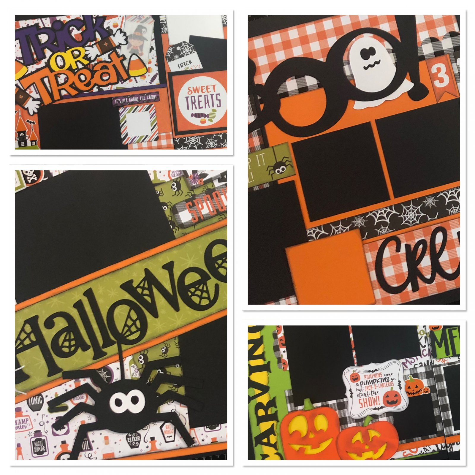 October Layouts 2020 by Gena Glover
