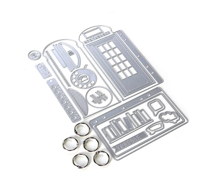 Elizabeth Craft Designs Phone Booth Special Kit