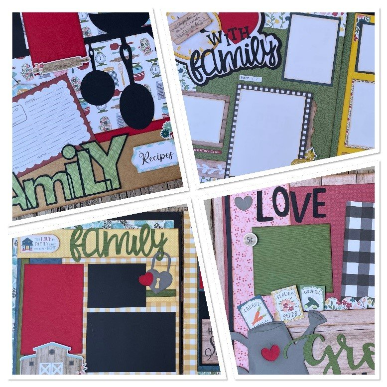 September Layouts 2021 by Gena Glover