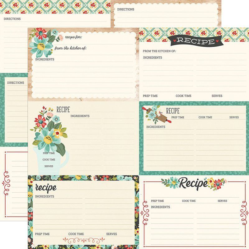 Apron Strings Recipe Cards
