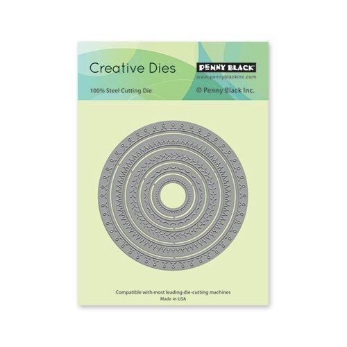 PB Stitched Circles Die