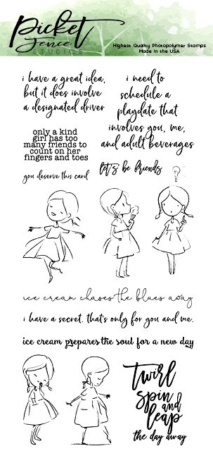 Sweet Dear Friend Stamp and Die Group