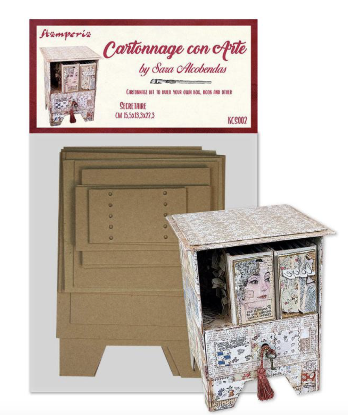Cartonnage Kit Secretaire