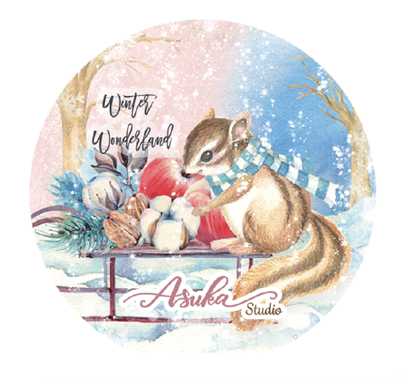 Winter Wonderland Washi Tape 25mm