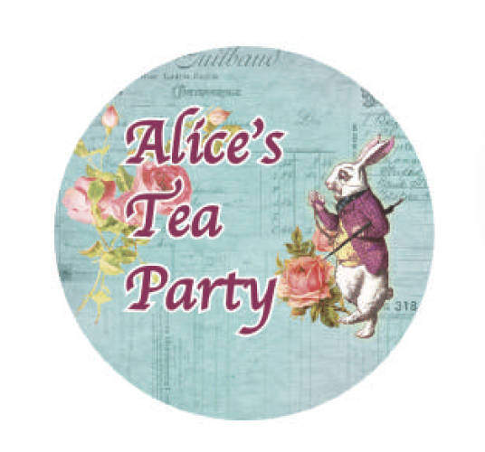 Alice's Tea Party Washi Tape 15mm