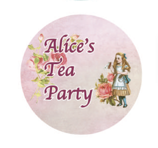Alice's Tea Party Washi Tape 25mm