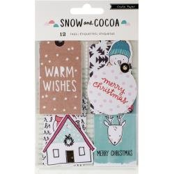 Snow and Cocoa Tags
