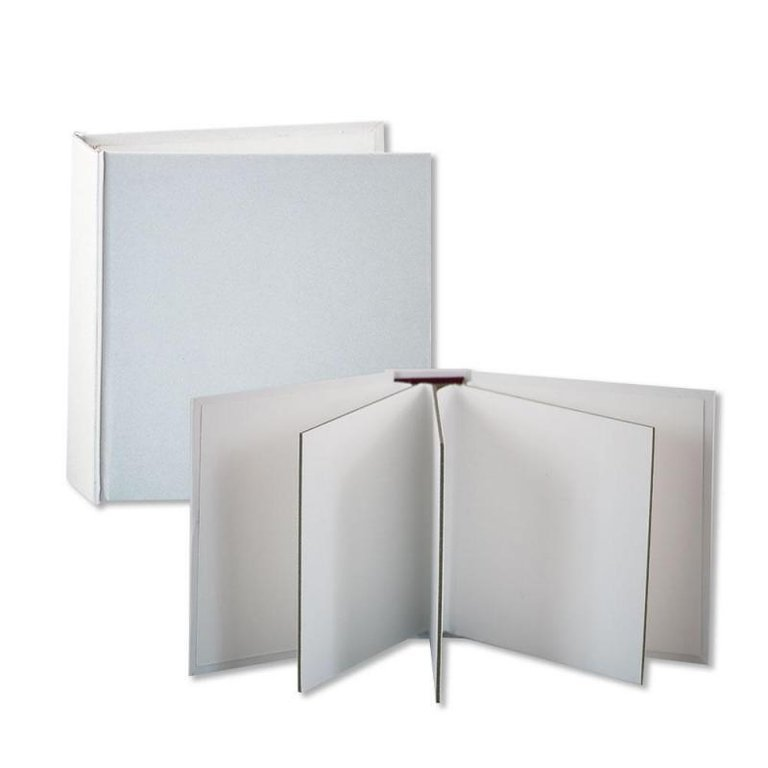Stamperia Cardboard Album White 6 x 6