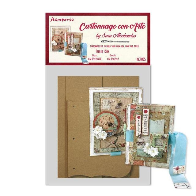 Cartonnage Kit Sweet Box