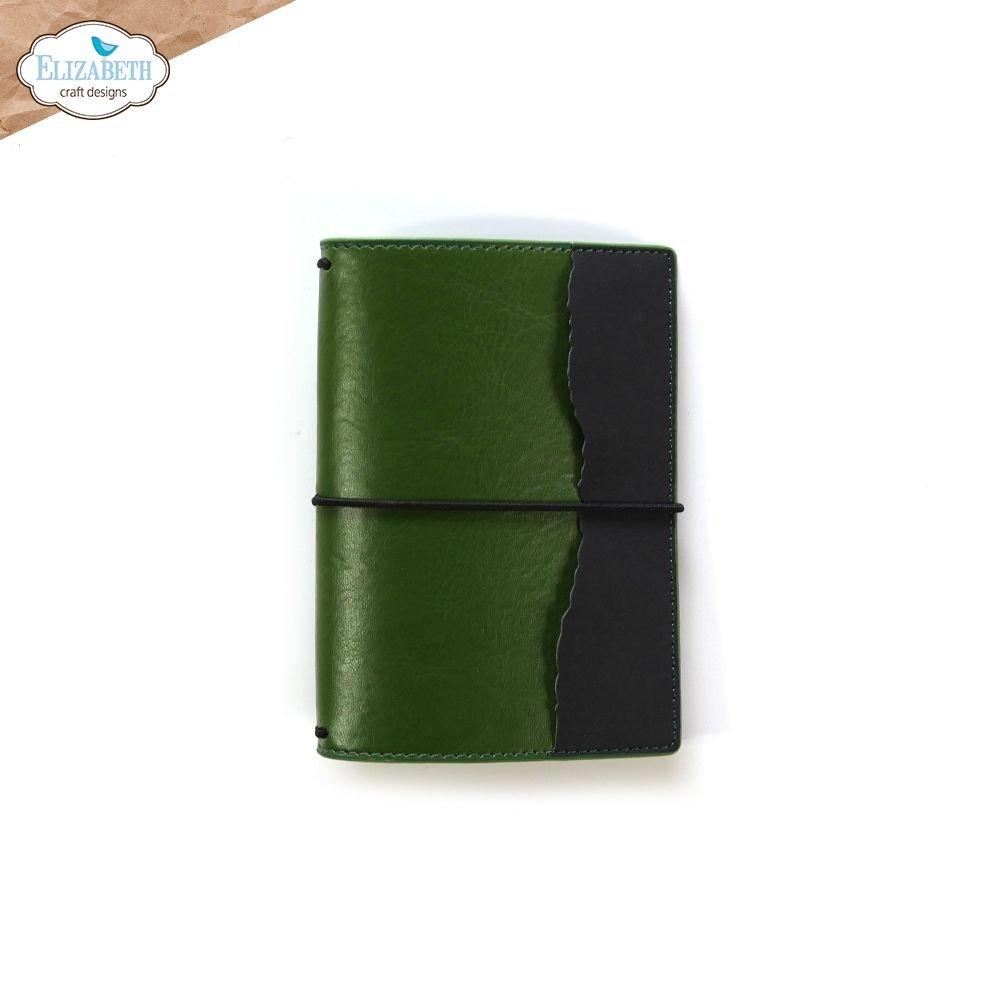 Elizabeth Craft Designs Traveler's Notebook - Moss