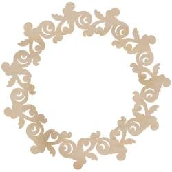 Kaiser Wood Rose Wreath