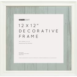 Kaiser 12X12 White Frame