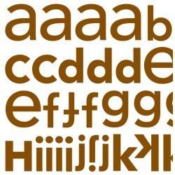 DB ABC Sticker Bon Bon