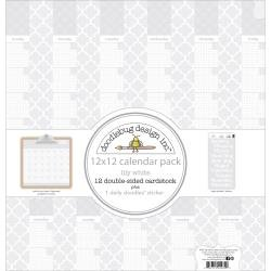 Doodle Bug Blank Calendars