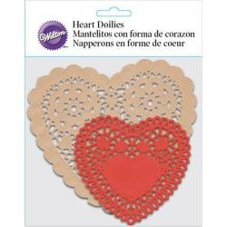 Heart Doilies - Wilton