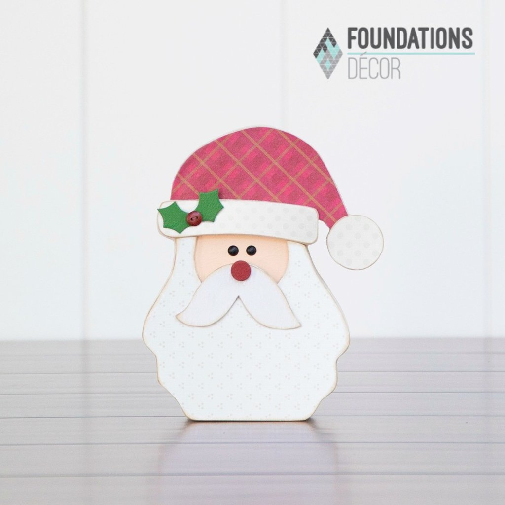 Foundation Decor - Dec. Santa