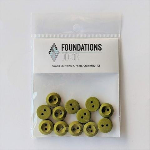 Small Buttons - Green
