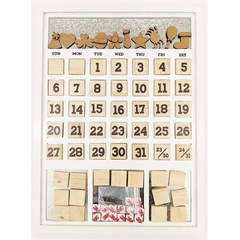 Magnetic Calendar - White