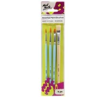 Mont Marte - Assorted Paint Brushes