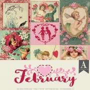 Authentique - February Paper Pk