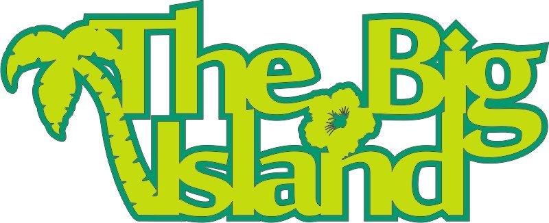 The Big Island Laser Cut