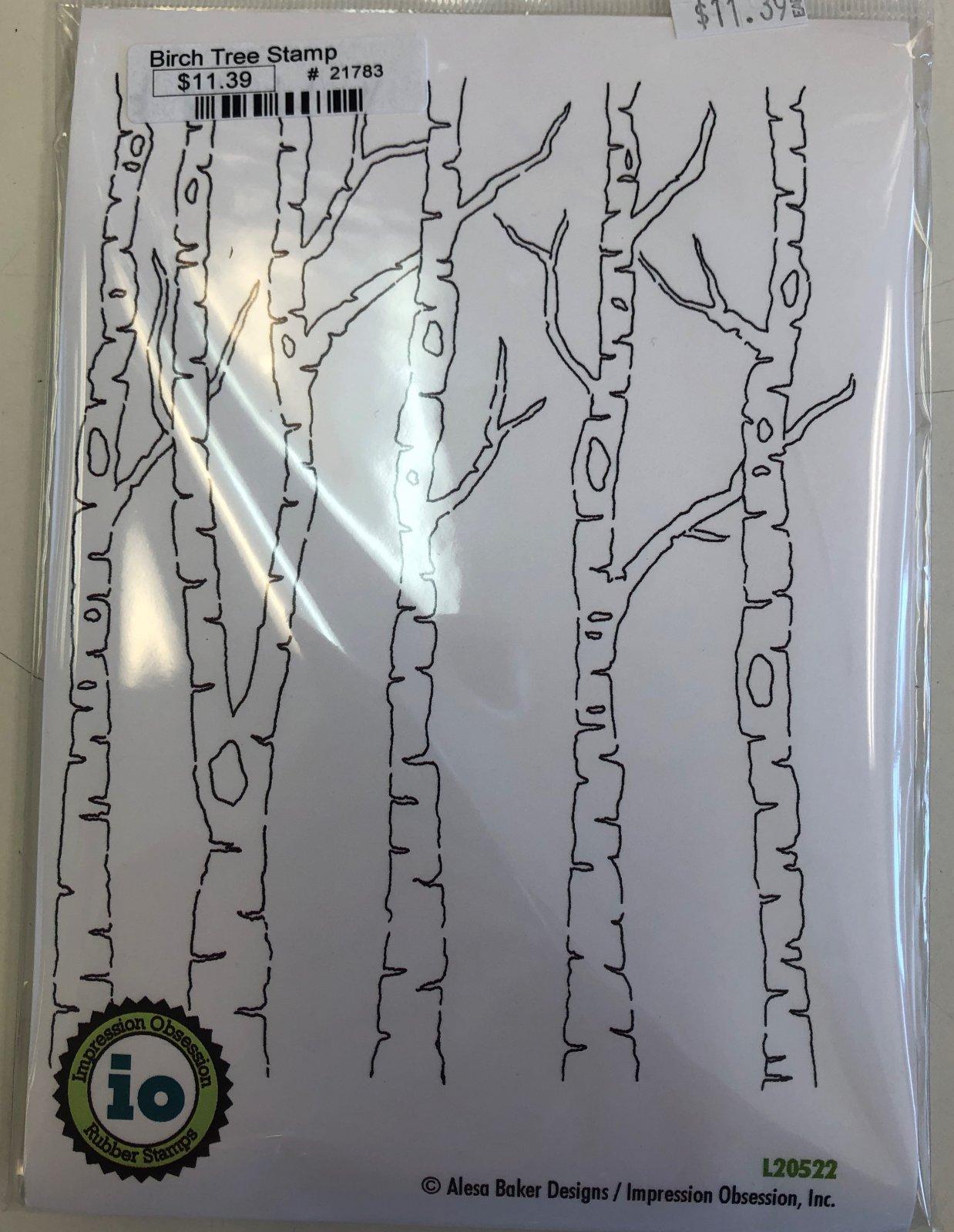 Birch Tree Stamp
