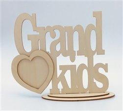 GrandKids Wood Frame w/Stand