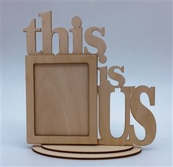 This Is Us Wood Frame w/Stand