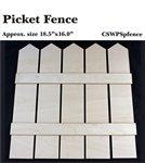 Pallet Shapes - Picket Fence