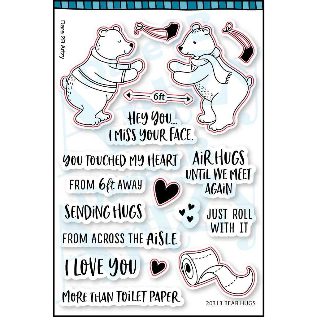 D2BA - Bear Hugs Stamp