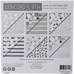 Concord & 9th - Floral Fill in