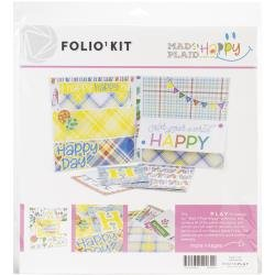 Folio 1 Kit - Mad 4 Plaid Happy