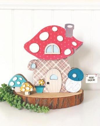 Foundation Decor - Gnome Home