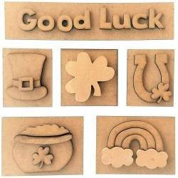 Good Luck Shadow Box Kit