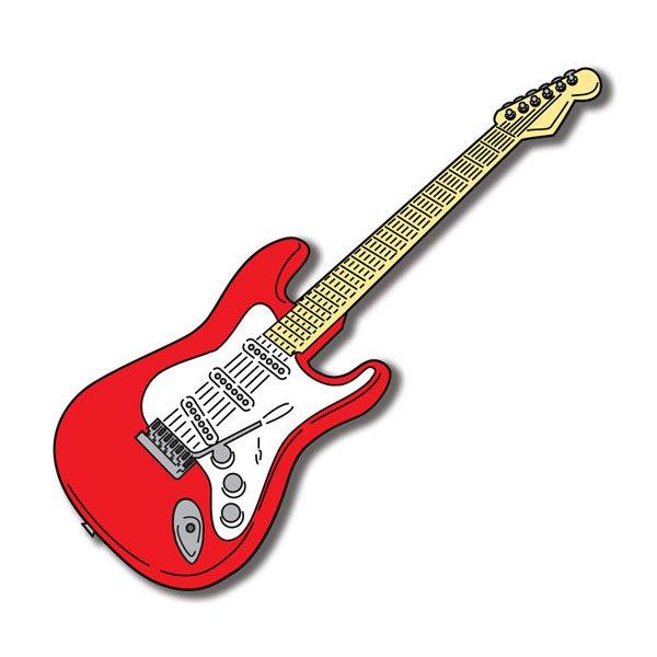 Electric Guitar Die Cut