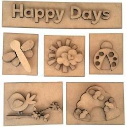 Happy Days Shadow Box Kit