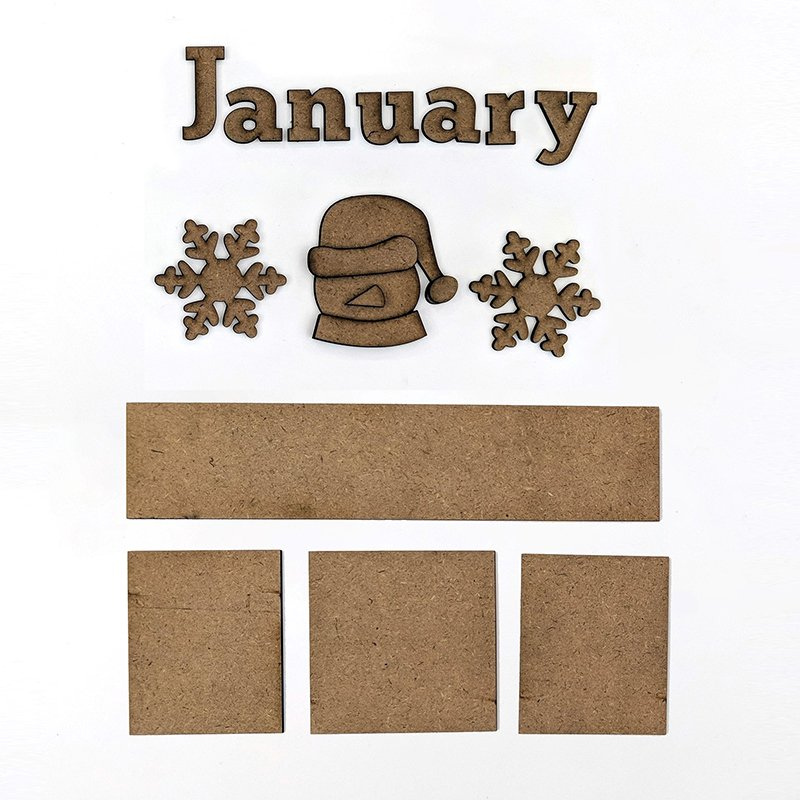 Magnetic Calendar - Monthly Kits
