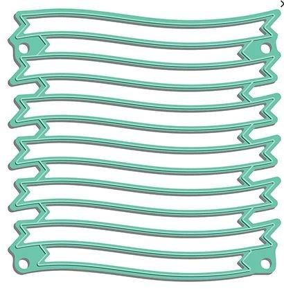 LDRS - Wave Ribbon Banner Stack