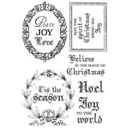 Letter to Santa Clear Stamps