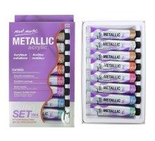 Mont Marte - Metallic Acrylic Paint set