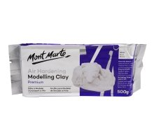 Mont Marte - Modeling  Clay - White