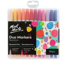 Mont Marte - Duo Markers -24 pc
