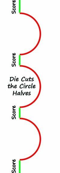 Paper Cut - Swinging Z Circle Die