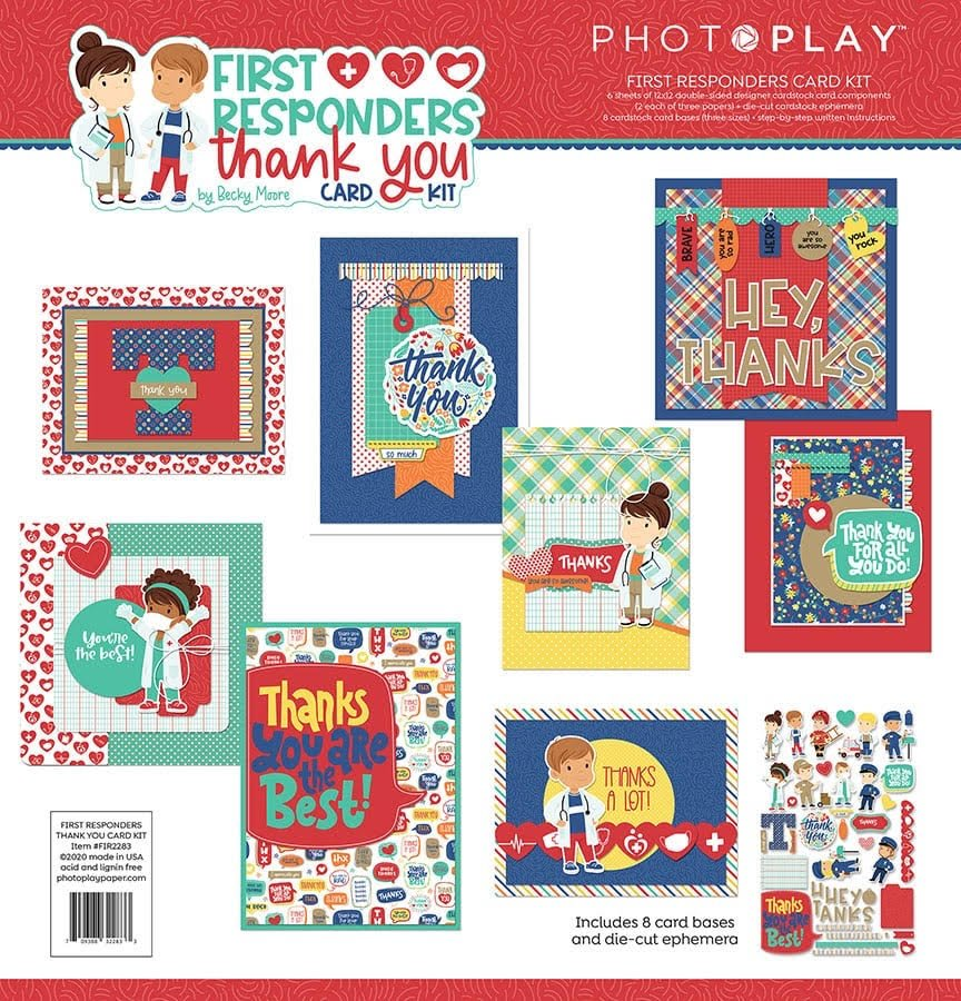PhotoPlay Card Kit  - First Responders
