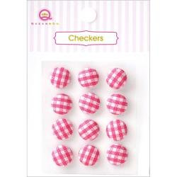 Checkers - Pink