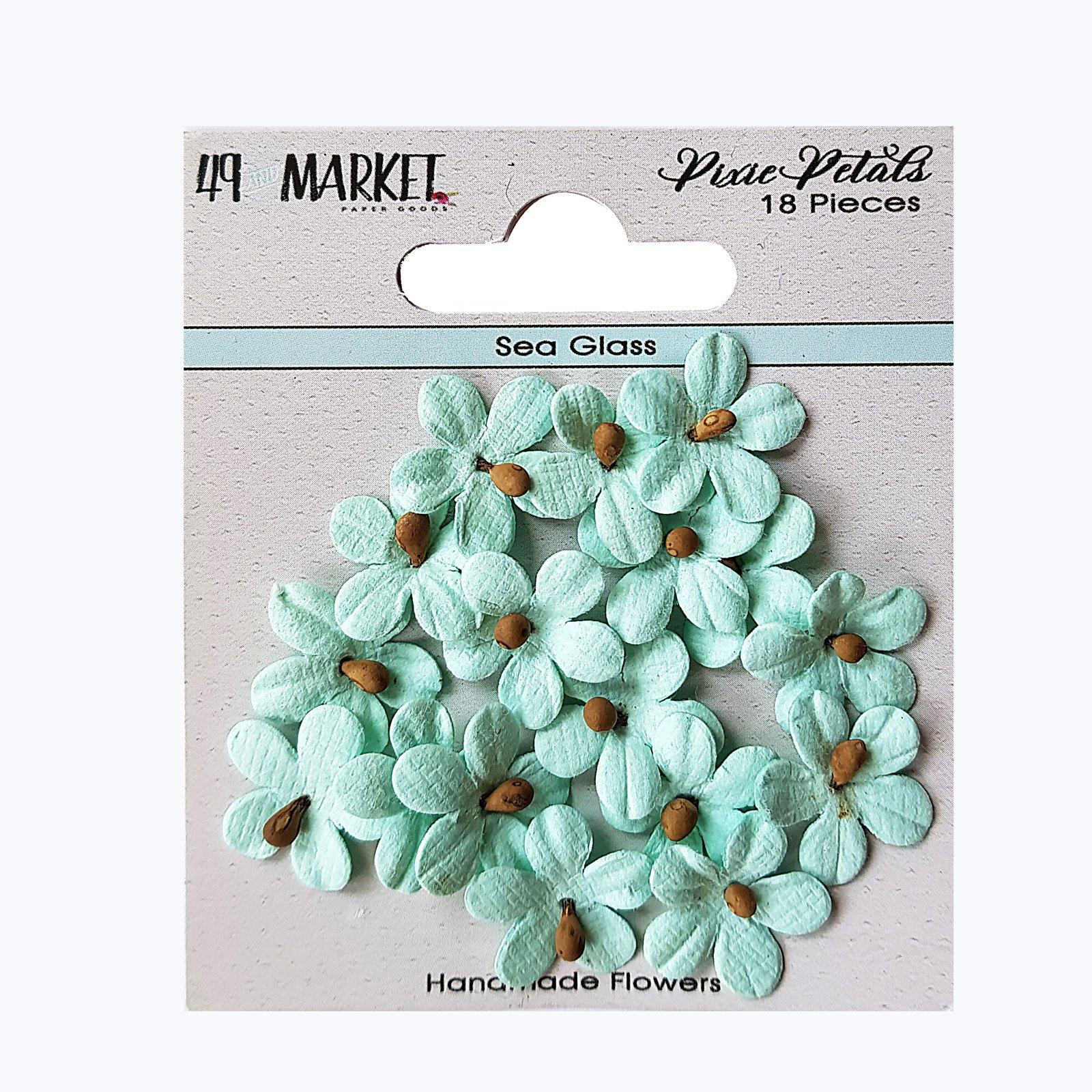 49th & Market Pixie Petals - Sea Glass