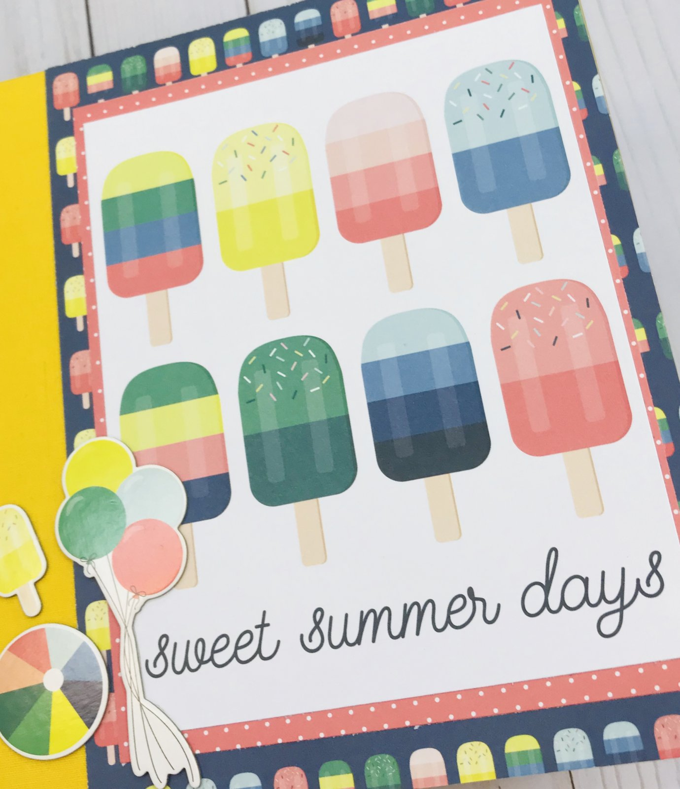 Sweet Summer Days Mini Album