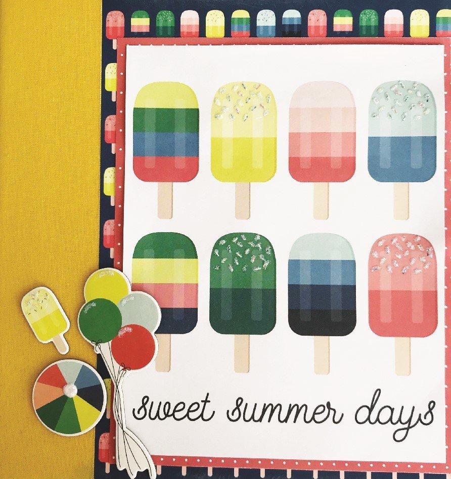 Sweet Summer Day Album Kit