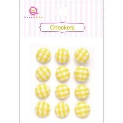 Checkers - Yellow