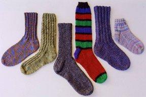 Ann Norling Adult Basic Socks Pattern #12
